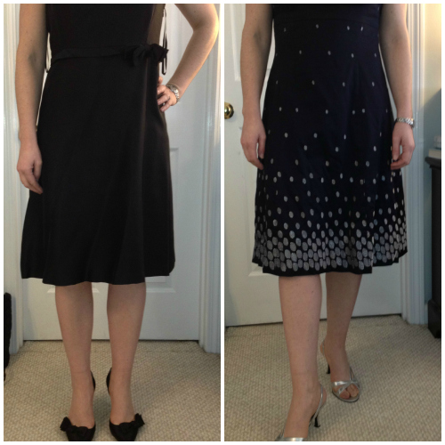 Banana Republic and Ann Taylor dresses