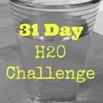 31 Day Drink More Water Challenge