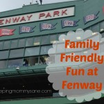 Family Fun at Fenway Park