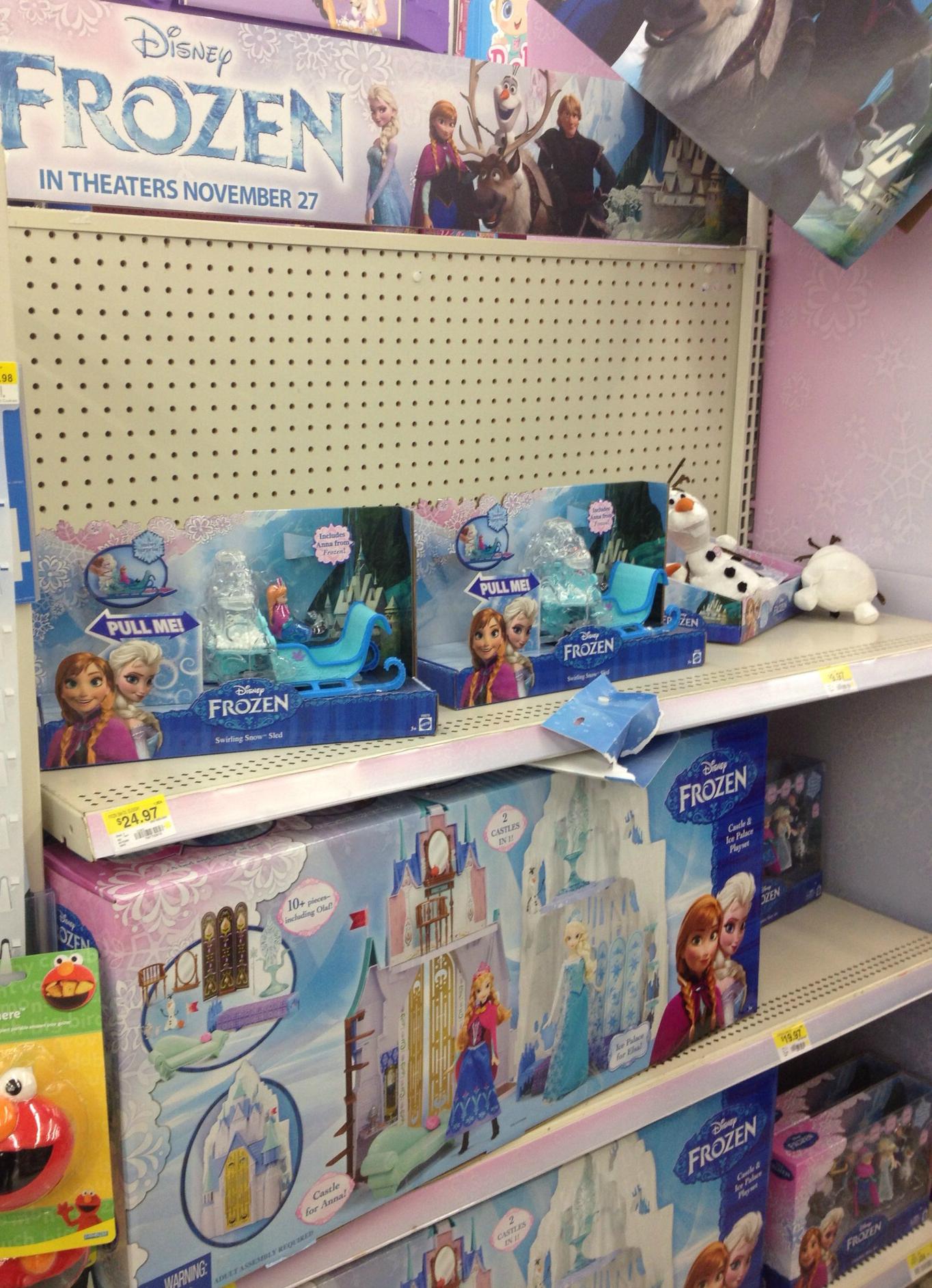 Walmart Toys For Girls Birthdays : Walmart disney frozen supplies party invitations ideas