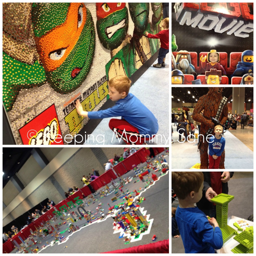 LEGO KidsFest Collage