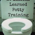 10 Things I Learned Potty Training
