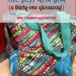 I Found The Best Gym Bag {A Thirty-One Giveaway!}