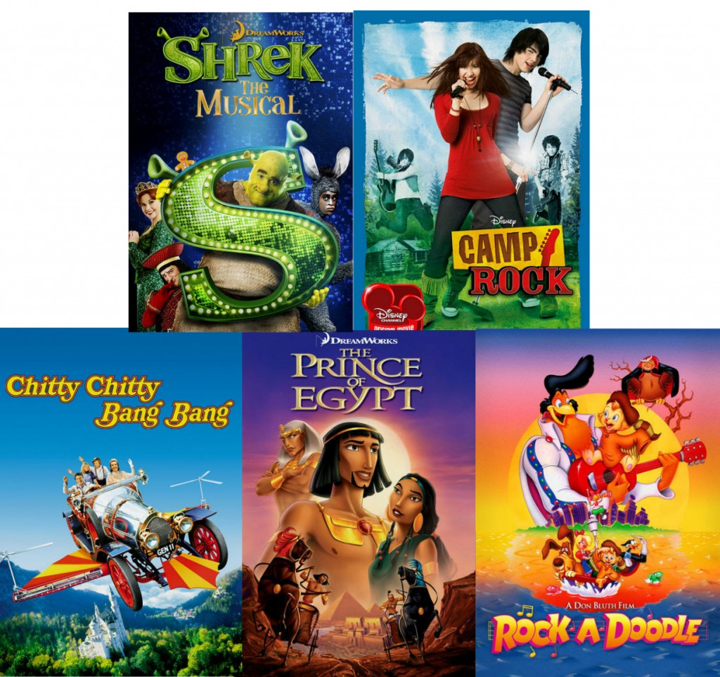 Musicals for the kiddos on Netflix #StreamTeam via www.keepingmommysane.com
