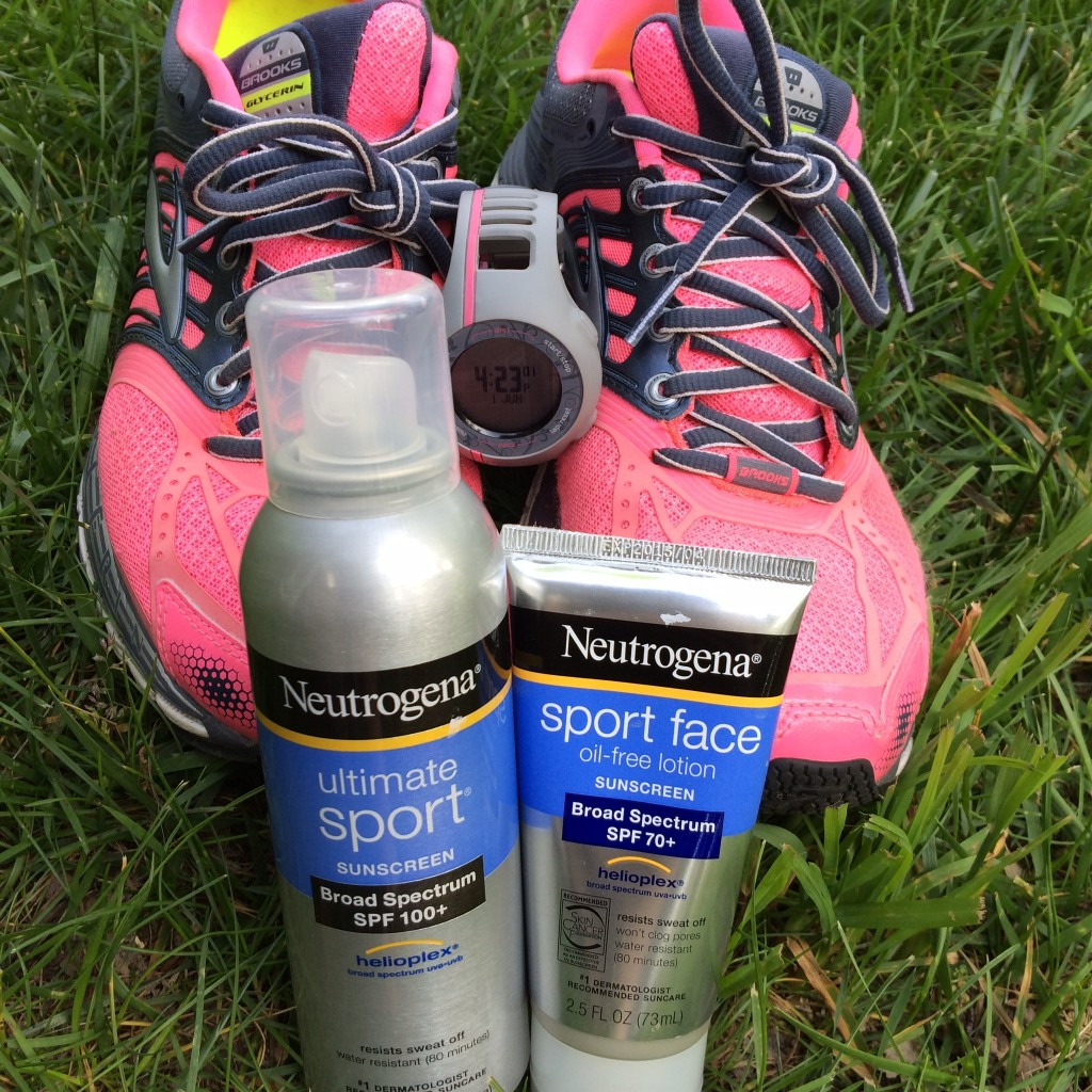 My summer running supplies.