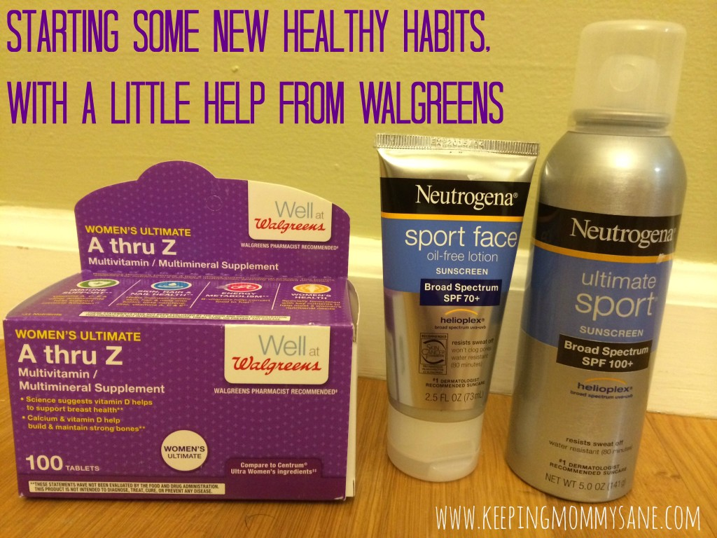 Starting some new healthy habits, with a little help from Walgreens #HerHealth #shop