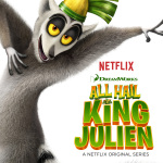 Ringing in the New Year with King Julien #Netflix