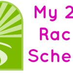 My 2015 Race Schedule