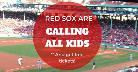 Boston Red Sox Calling All Kids #RedSoxMoms